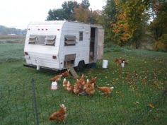 Camping Trailer Chicken Coop