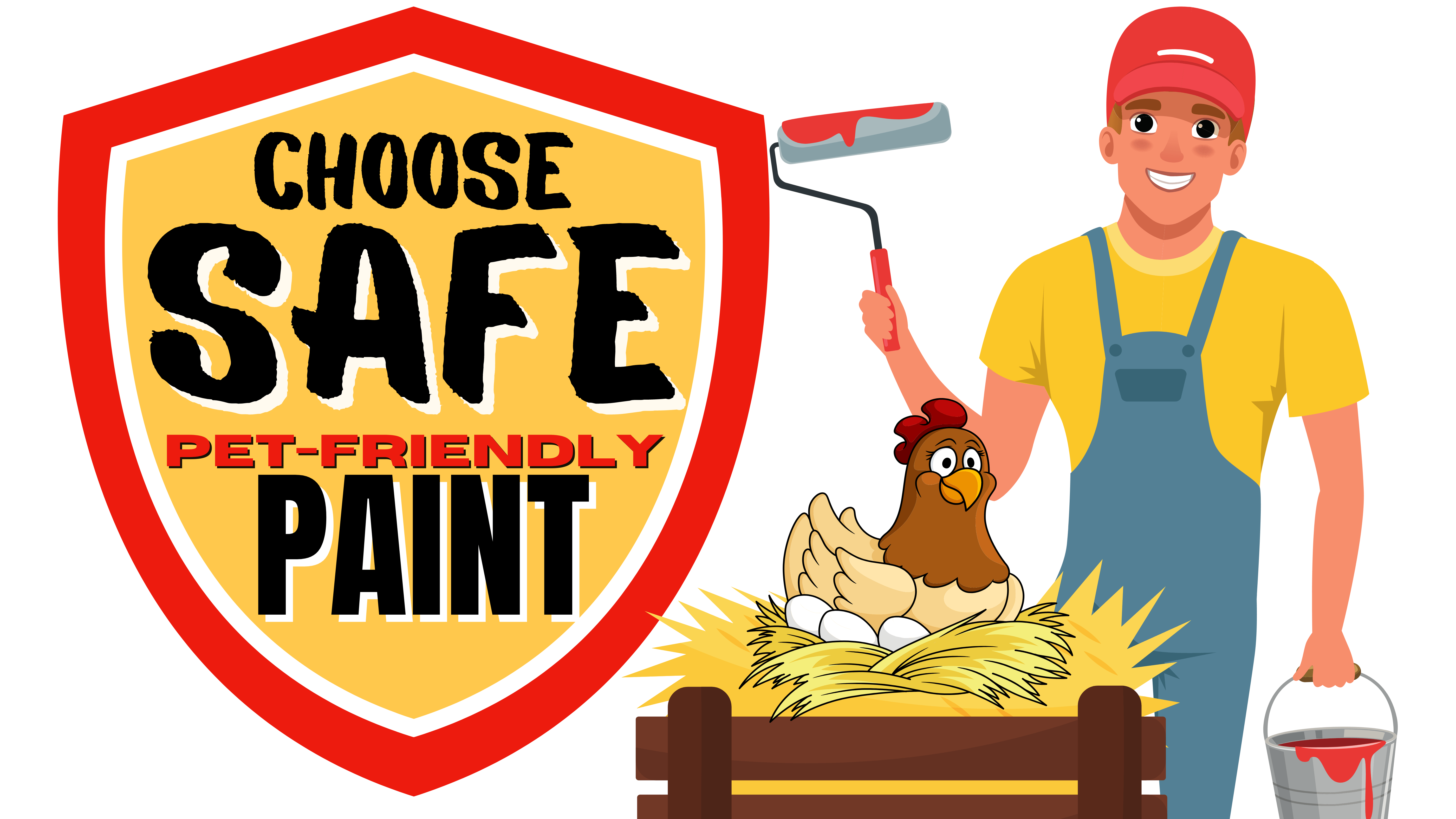 safe paint for chicken coops