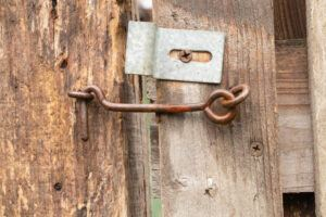 chicken coop latches