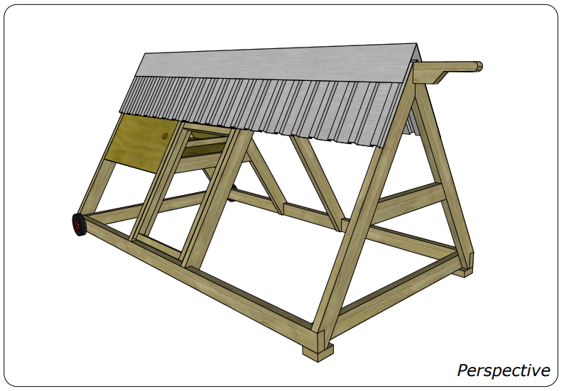 chicken coop plan 4 chickens