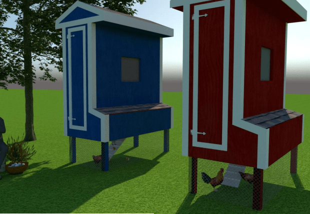 free chicken coop plan for 6 chickens