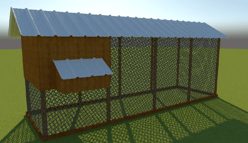 free chicken coop plan 10 chickens