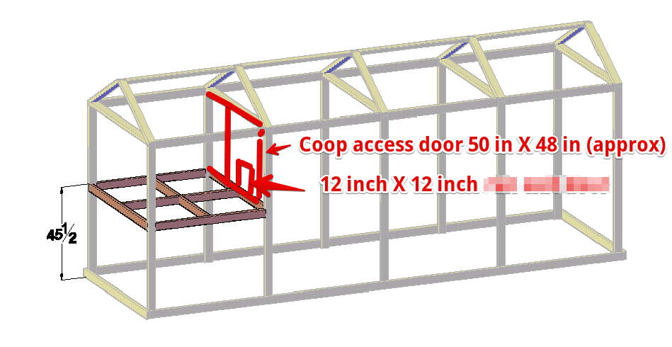 free 6x20 chicken coop plan for up to 15 chickens